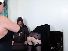 Bad religion - kinky sex wife and nuns in the church grupavuha