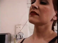 Two bitches have a fun humiliating a stud in a hawt femdom episode