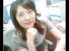 Sweet and nice-looking Korean girlfriend rides her guy on hidden web camera