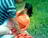 Lustful Paki milf gets drilled by my buddy in the forest
