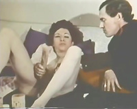 Well stacked cheating wife blows hard knob after masturbation