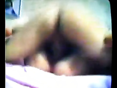 Fucking curly love tunnel of my Chinese hotwife on homemade clip