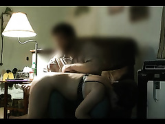Spanking my wife's arse and toying her cookie to orgasm
