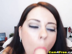 Pretty French Babe Moaning Hard as its Fuck her Pussy and Ass