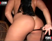 Busty wife strips naked to fuck with her trusty horse