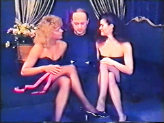 Retro porn compilation with anal sex and trio act