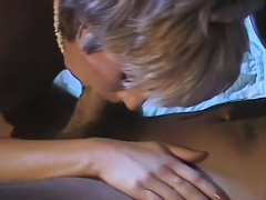 Short-haired mother I'd like to fuck sucks hard 10-Pounder deepthroat previous to having steamy missionary style sex