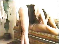 My chubby bottomed Arab black cock sluts is riding my wang in cowgirl position