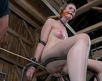 Small tittied nympho acquires totally dominated in this BDSM scene