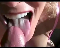 I think my milf blond BBC slut can't live without the smack of cum