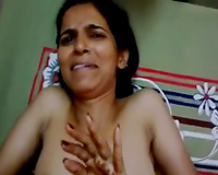 Indian milf watches me rubbing my weenie and gives me hand